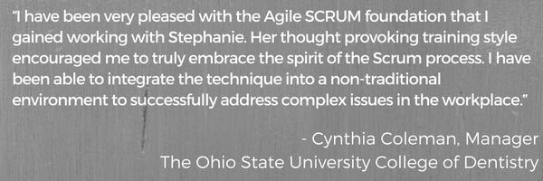 Testimonial Cynthia