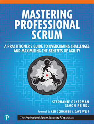 Mastering Professional Scrum Book Cover